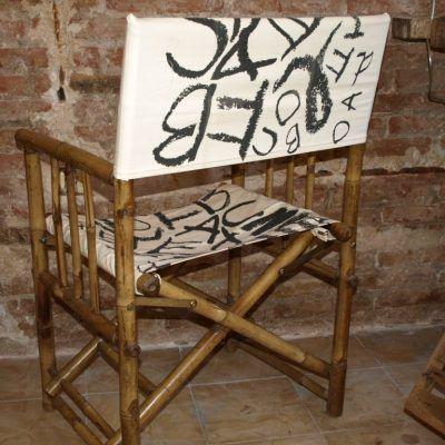 Cadira Roba Lletres Darrera